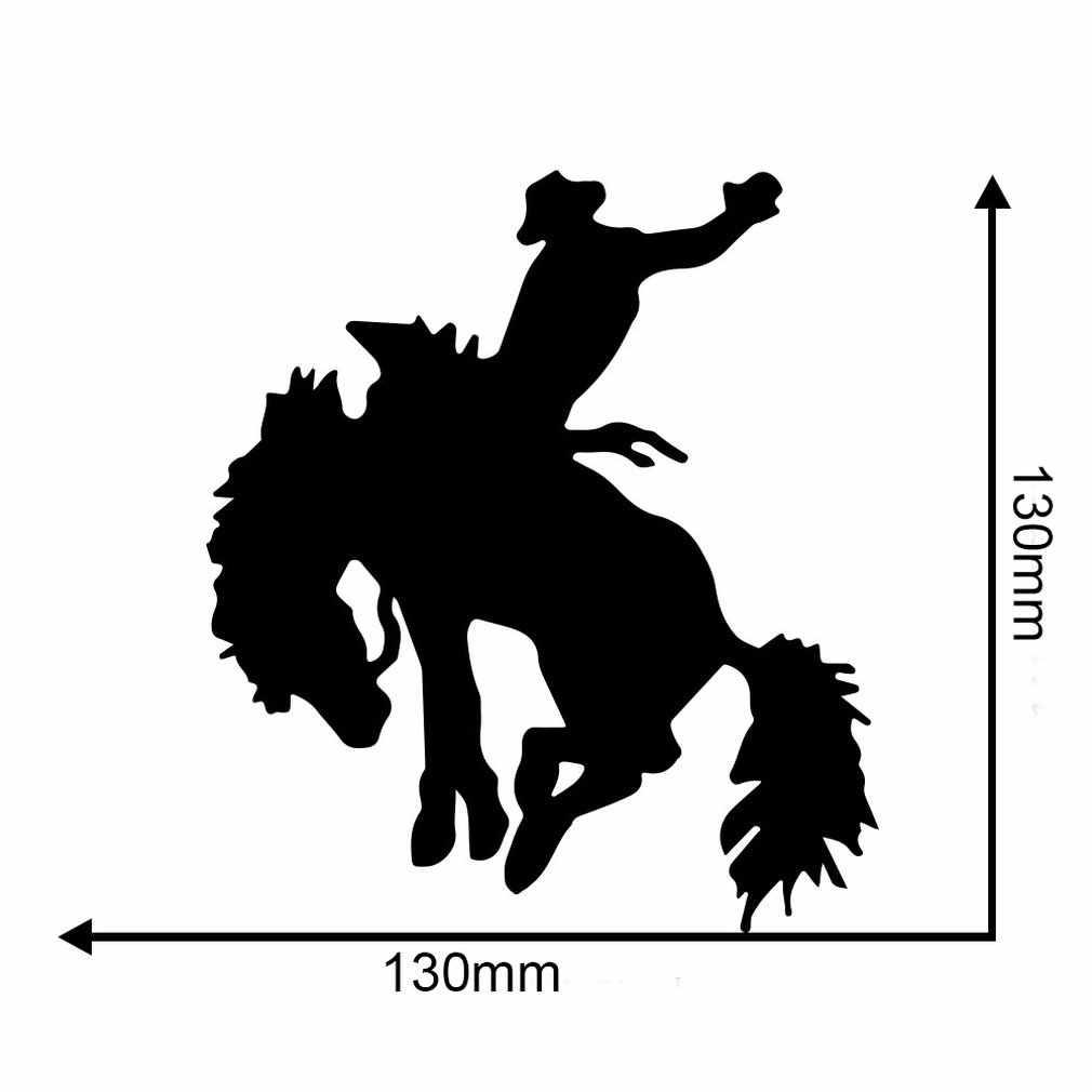 جديد كاوبوي الحصان ركوب ملصقات جدار الشارات القابلة للإزالة غرفة المعيشة غرفة نوم المنزل الشارات الفن الديكور