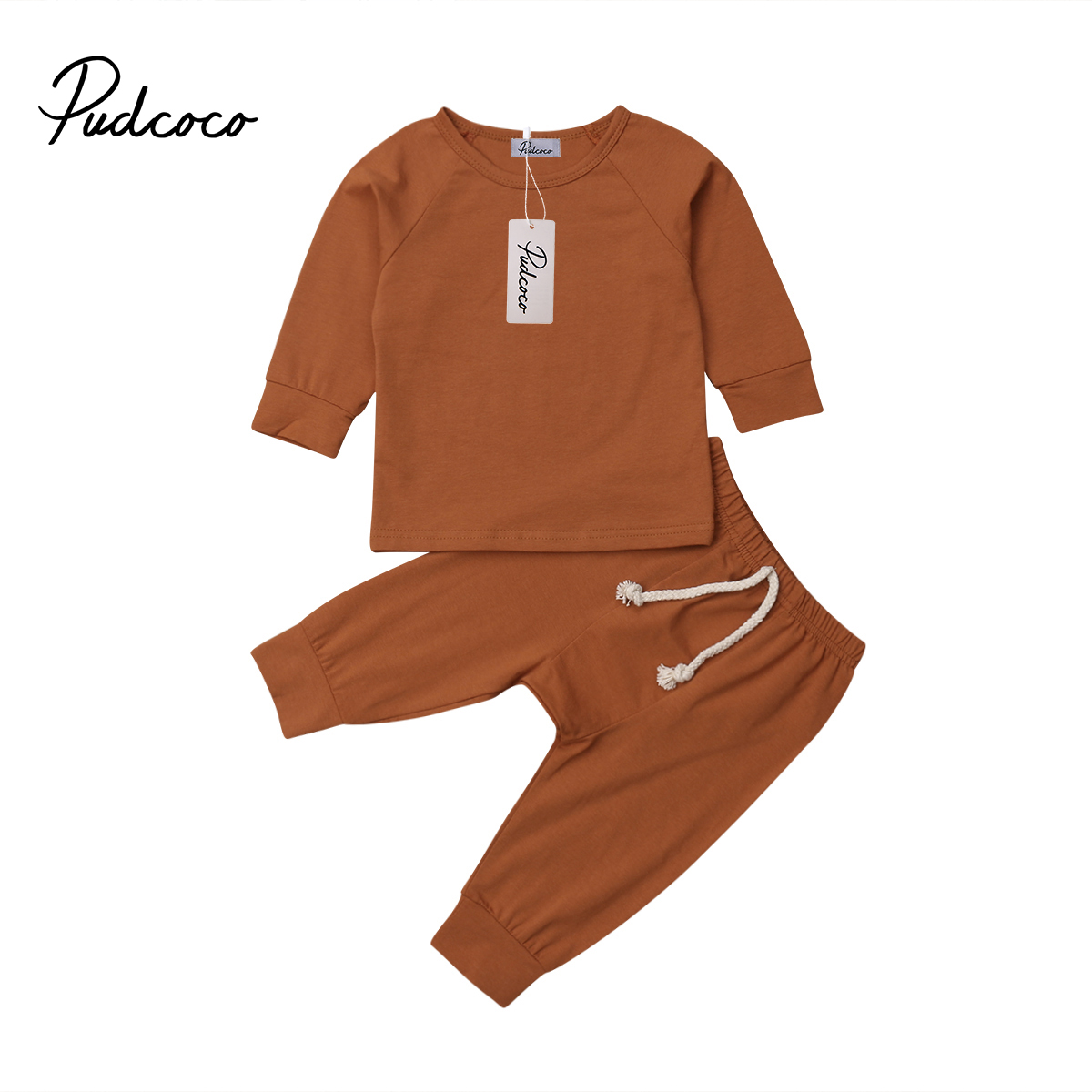 6 Color Baby Boy Girl Soft Cotton Pajamas Clothes  Set Sleepwear Nightwear Outfit For Newborn Infant Children Cloth Kid Clothing