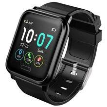 цена smart waterproof watch men women for ios android pedometer brand bracelet bluetooth fitness tracker sport wrist watch  IP68 онлайн в 2017 году