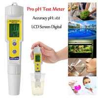 Auto Calibration Digital PH Tester Meter Thermometer Temperature Tester pen Kit Waterproof Pen