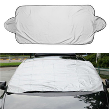 Prevent Snow Ice Sun Shade Dust Frost Freezing Car Windshield Cover Protector Cover Universal for Auto intro tech automotive lx 22 s windshield snow shade