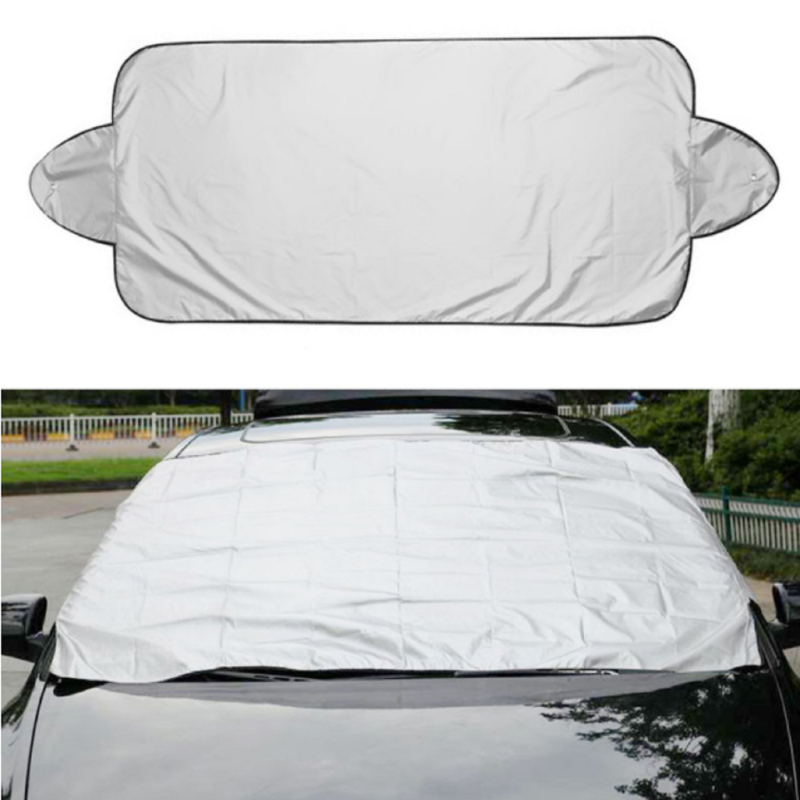 Prevent Snow Ice Sun Shade Dust Frost Freezing Car Windshield Cover Protector Cover Universal for Auto image
