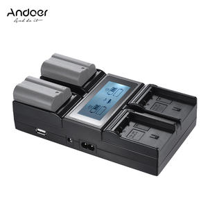 Andoer Battery-Charger FM500H F750 Digital-Camera Sony NP-F550 for Np-f550/F750/F950/..