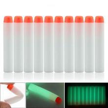 Поролоновые 7,2 см/2,83 дюйма флуоресцентные светящиеся мягкие пули светящиеся Сменные пули Дартс с мягкими наконечниками для N-strike Elite Series