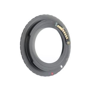 Image 4 - ALLOYSEED AF Confirm M42 E0S Mount Lens Adapter Bayonet mount for Canon Eos 5D 7D 60D 50D 40D 500D 550D Rebel T1i T2i T3i