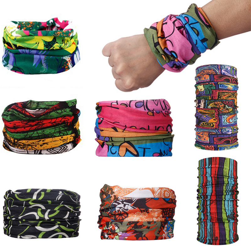 Headscarf Female Multi-Function Magic Seamless Sunscreen Bicycle Riding Changeable Outdoor
