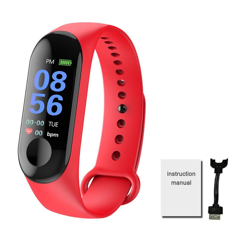 Image 4 - Smart Watch Color Screen Waterproof Fitness Tracker With Heart Rate Blood Pressure Monitor Activity For Android & IOS 2 Color-in Smart Watches from Consumer Electronics