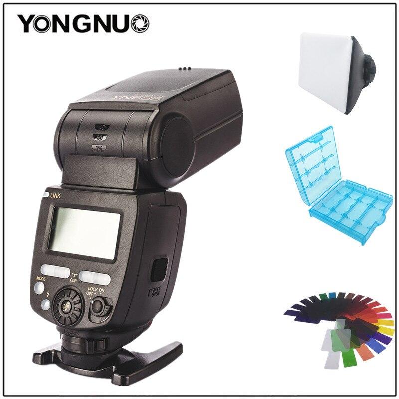 YONGNUO YN685 YN-685 Wireless HSS I-TTL Flash Speedlite For Canon 1300d 1100d 6d 5d Mark Iii For Nikon D5300 D7200 D3400 D7000