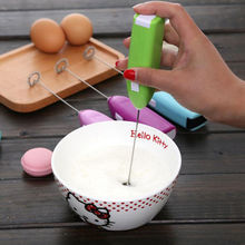 New Egg Tools Electric Kitchen Stirrer Milk Frother Mini Mixer Beater Appliances Hot Coffee Blender Kitchen Tools