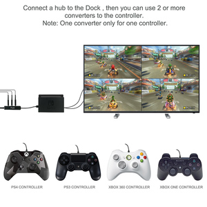 Image 4 - DOITOP Converter for Nintend Switch Controller Adapter For PS3/PS4/Xbox 360/Xbox One Wired Gamepad to N Switch OTG Cable