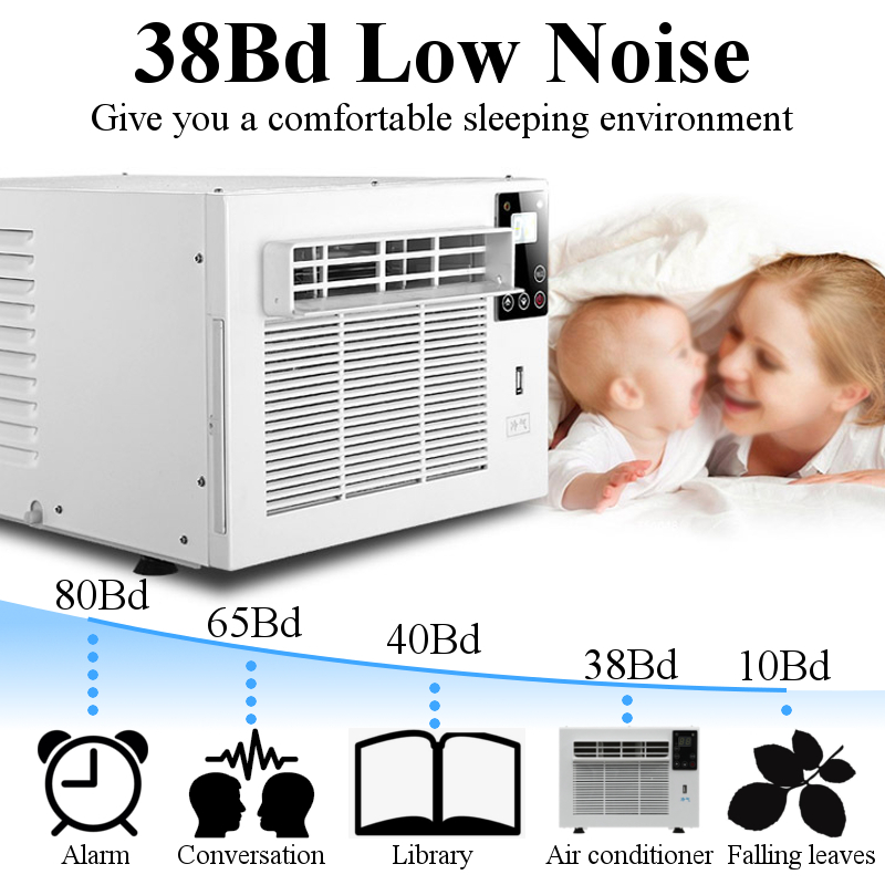 Hot Sell 220V/AC 1100W Main engine power 360W With remote control Pet air conditioner Desktop air conditioner