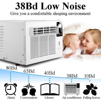 Hot Verkoop 220 V/AC 1100 W Belangrijkste motorvermogen 360 W Met afstandsbediening Huisdier airconditioner Desktop airconditioner