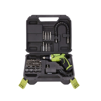 Screwdriver Rechargeable With Lithium Battery 7.2V Household Electric Screwdriver With Twistable Handle/Us Plug