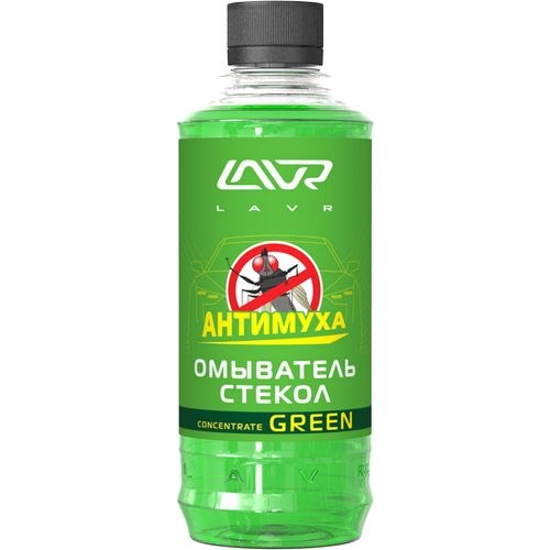 Washer glasses summer Green Anti Fly LAVR 1L concentrate 1:4 washer glasses summer orange anti fly lavr 1l concentrate 1 4