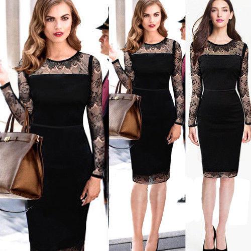 мода женская зима платья новый топ синий элегантный длиной до колен тонкий эластичный платье bodycon свободного покроя карандаш сдвиг платье плюс