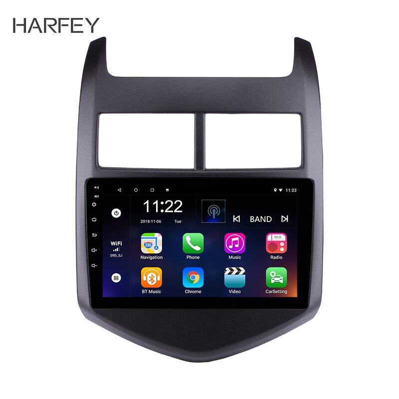 Harfey 8 core Head Unit Radio Android 8 1 For 2010 2011 2013 Chevy Chevrolet AVEO