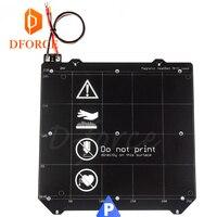 D FORCE PRUSA i3 MK3 MK2/2.5 Mk52 Heated Bed spring steel plate