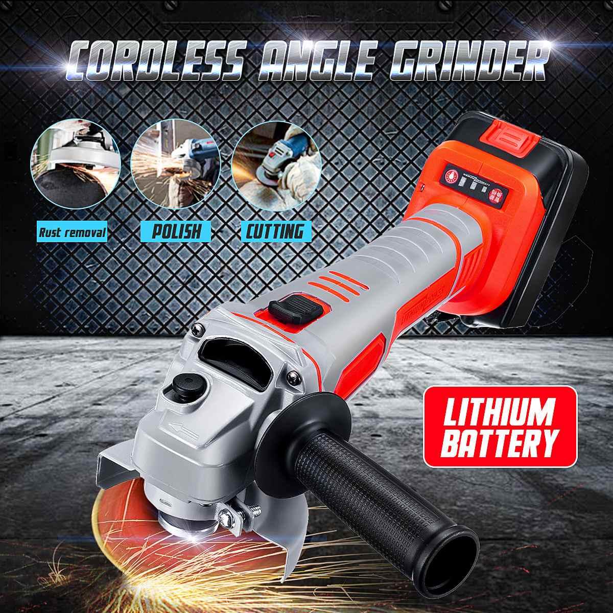 188/218VF Electric Angle Grinder Cordless 29800mah large capacity battery Polisher Polishing Machine Cutting Power Tool Set