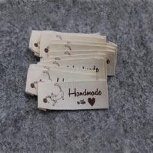 Lychee Life 50 шт. швейная машина ручной работы для шитья одежды ярлыки DIY этикетки типа «флажок» для швейных аксессуаров одежды