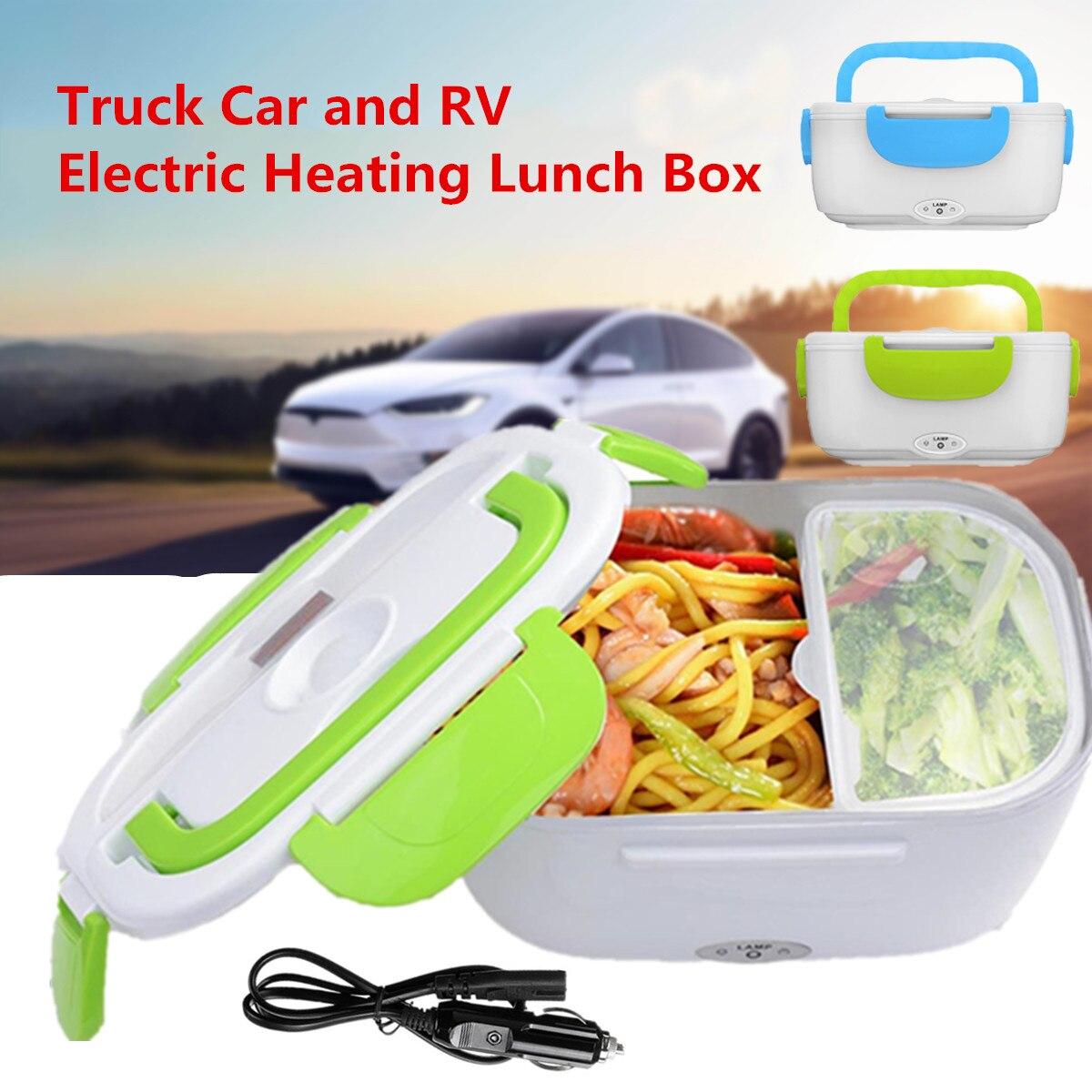 12-24V портативный Электрический авто с подогревом Ланч-бокс Bento коробки еда рисовый контейнер теплее для школы офиса дома столовая посуда