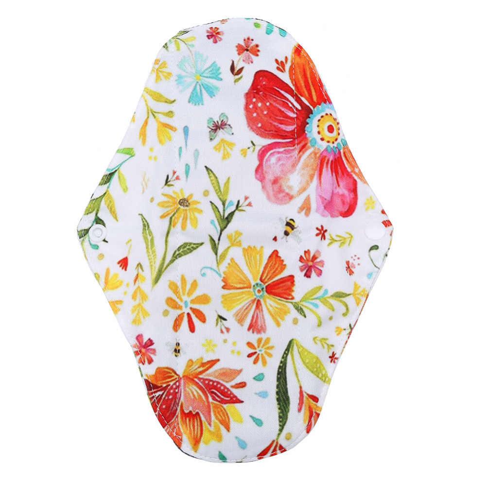 1PC 25x18 cm Riutilizzabili Sanitari Pad di Bambù Panno Lavabile Mestruale Pad Assorbente Igiene femminile Panty Liner Pad mestruali Pads