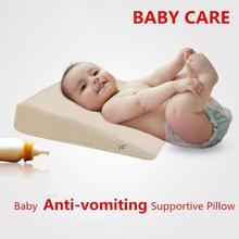 Klinowe łóżko poduszka zwiększoną wsparcie poduszka dla dziecka skos refluks kwasu Anti wymioty dostaw