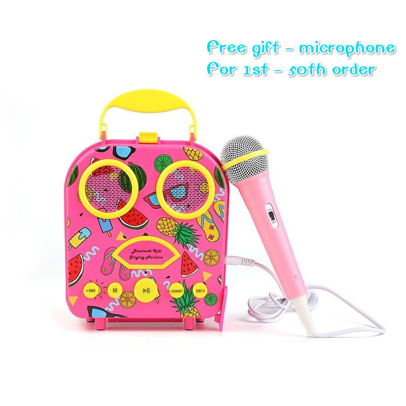 2019 portable Bluetooth enfants été plage mp3 haut-parleur sans fil étanche haut-parleur avec microphone FM Radio puissance banquier