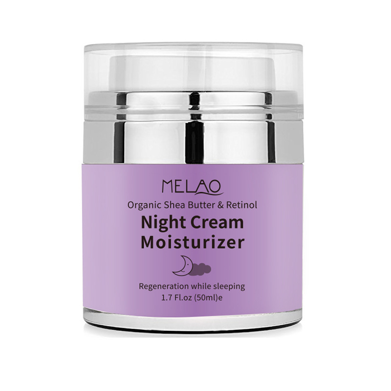 skin care High Quality Night Cream Organic Retinol Moisturizer Nourishing Night Cream Hyaluronic Anti-Wrinkle 50g 1