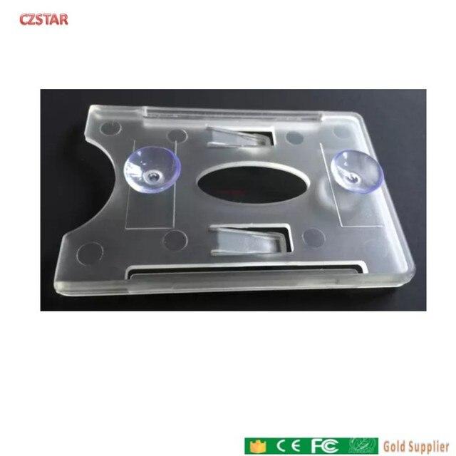 品質 uhf rfid カード吸盤吸引ホルダーステッカーフロントガラス uhf カードホルダー車車ガラスタグのため駐車制御アクセス