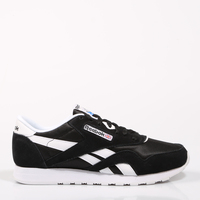 a774b70e23db02 Aliexpress.com   Buy REEBOK CLASSIC NYLON Black Shoes Woman Running Casual  Textile SoftFoam Stencil Authentic Breathable Original from Reliable  Running ...