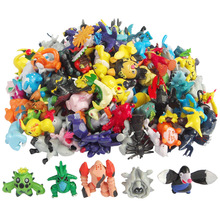 144 Pcs 2-3cm Pokeball Figures Cute Monster Mini Kawaii Pikachu Figures Toys Random Collection Anime Christmas Kids Gifts Toys цена 2017