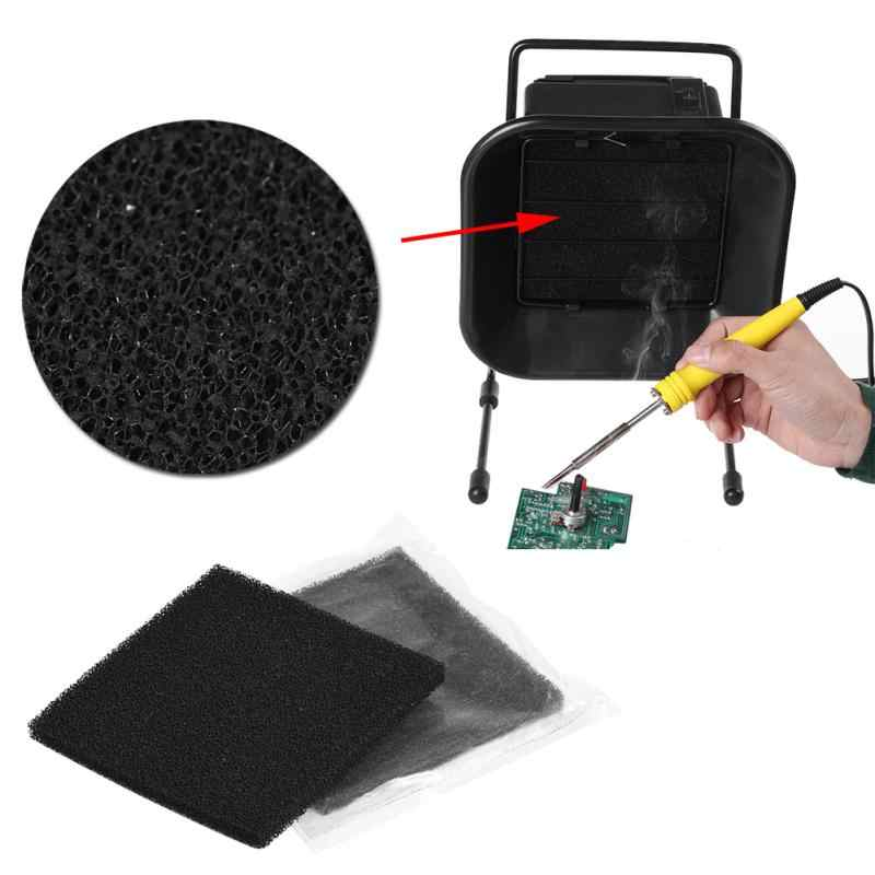 Activated Carbon Filters 13cm x 13cm for Soldering Smoke Absorber Fume Extractor Weiding Tools fashion hot