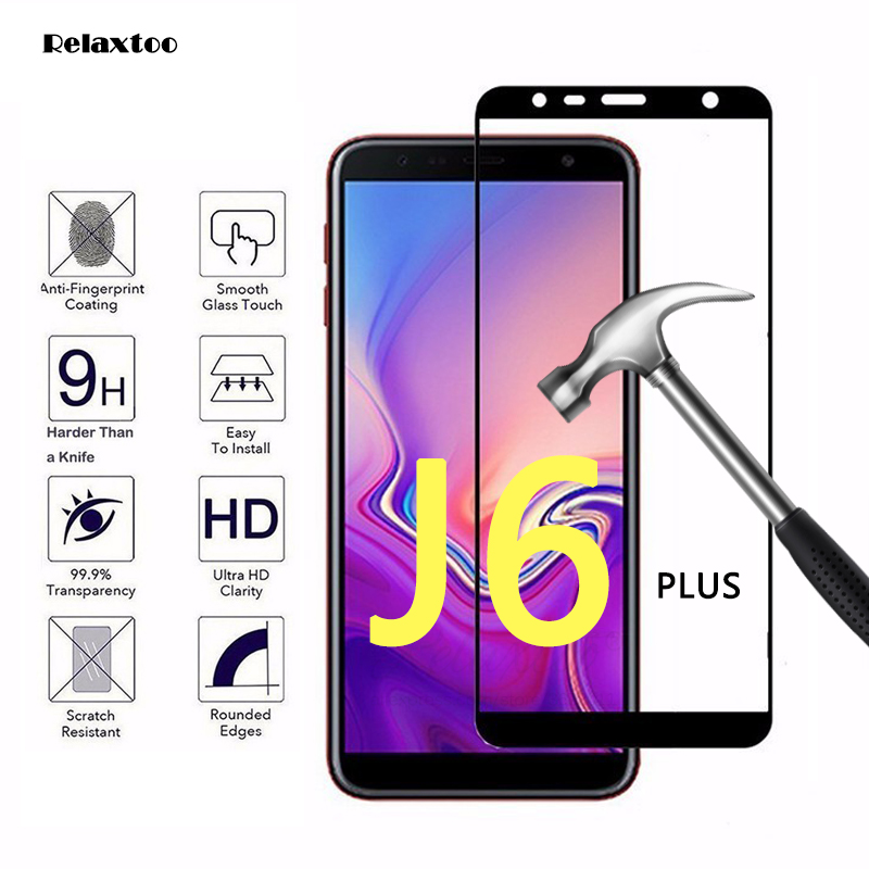 Tempered Glass For Samsung Galaxy J6 2018 sm-j600f/ds glass For Samsung j6+ J6 plus 2018 sm-j610fn Protective Glass j 6 Film 9h