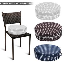 Asiento de refuerzo antideslizante redondo antideslizante para silla-almohadilla de silla alta para niños silla de comedor deslizante