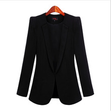 New 2020 Women Blazer Solid Color Three Quarter Sleeve Blazers