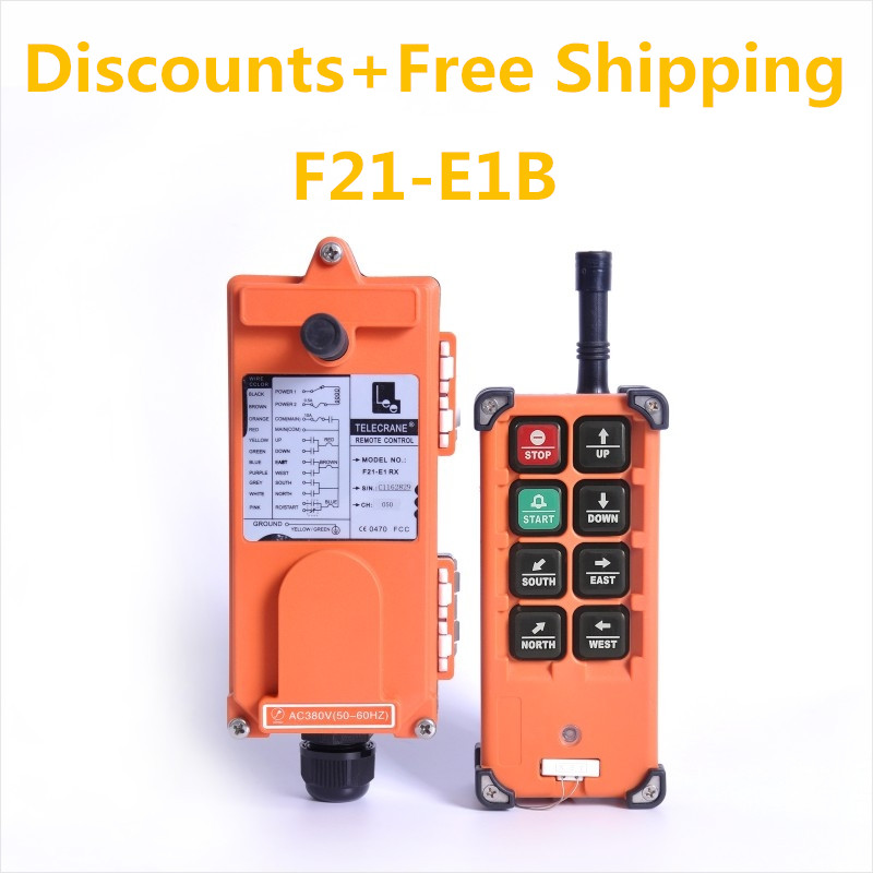 TELECRANE F21 E1B Industrial Crane Wireless radio RF Remote Control for truck hoist crane