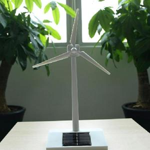 Solar Powered Windmill Toy 3D