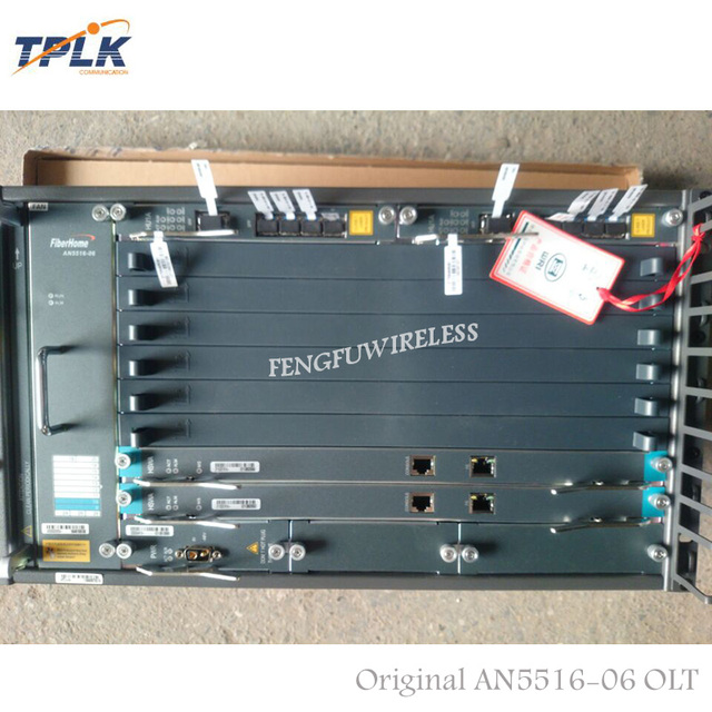 2018 Hottest AN5616-06 19 inch best Chassis OLT 2*HSWA 2*HU2A 2*PWR Support FTTH EPON/GPON card