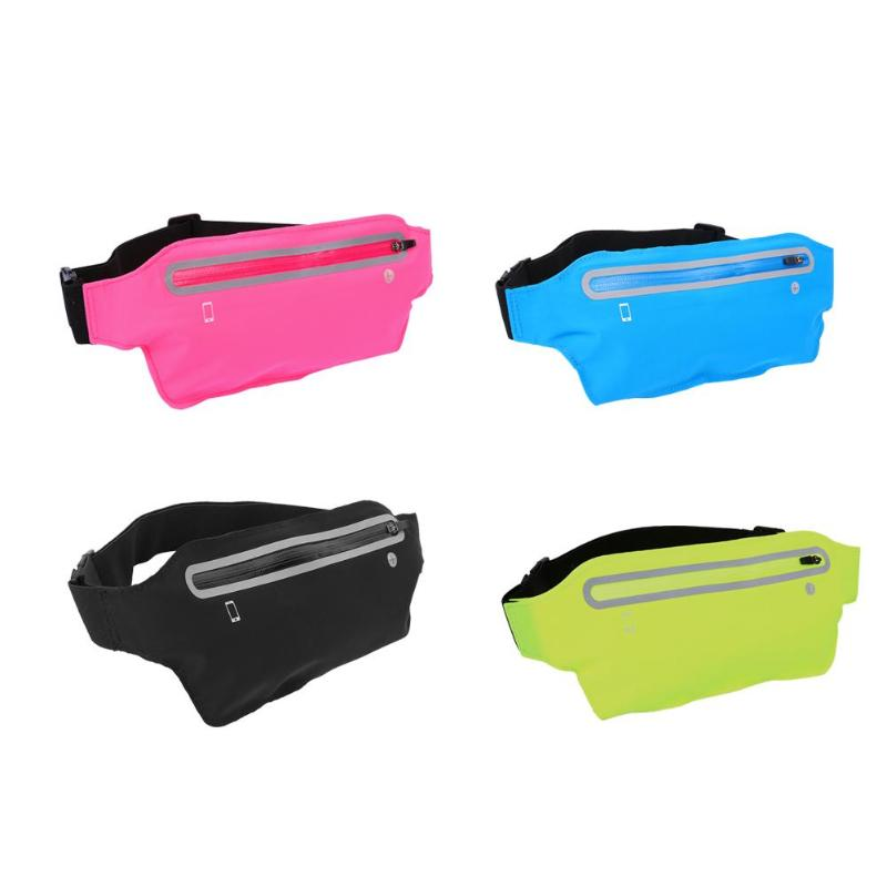 Man Woman Multifunction Running Mini Waist Bags Waterproof 6.2in Mobile Running Bags For Sport Fitness Cycling