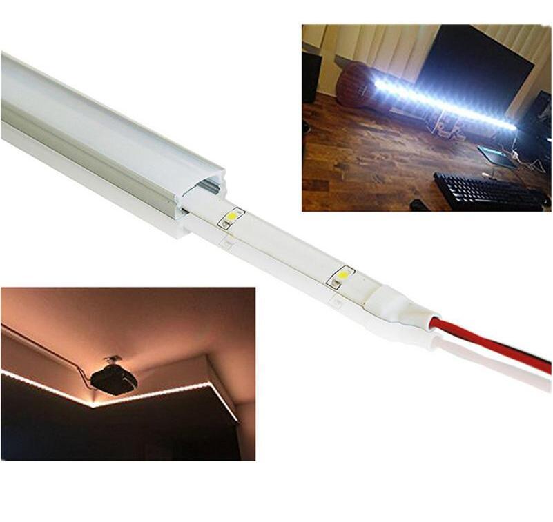 Nemokamas pristatymas 2m / vnt. 60 vnt / vnt. Aliuminio profilio su - LED Apšvietimas - Nuotrauka 3