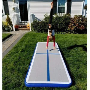 Image 2 - New (6m7m8m)*1m*0.2m Inflatable Gymnastics Airtrack Tumbling Air Track Floor Trampoline For Home Use/training/cheerleading/beach