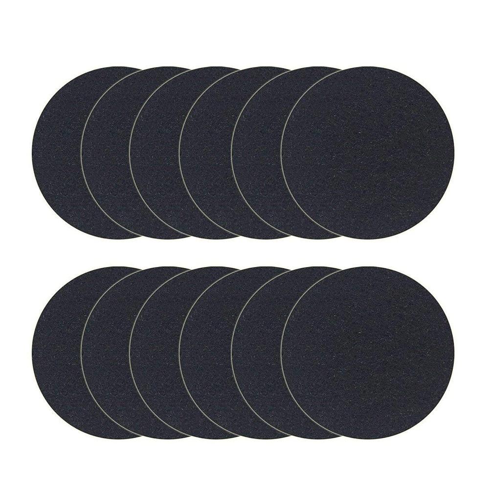 Набор из 12 угольный фильтр для Кухня компостное ведро замена фильтр Countertop домой ведро наборы стержней, круглый