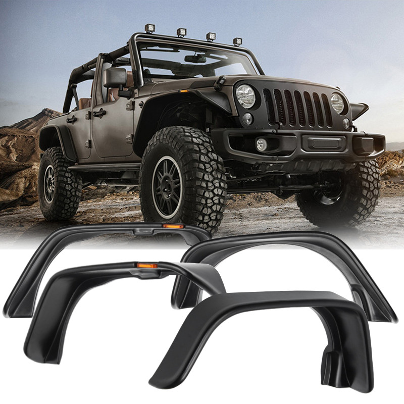 Best Price Car Wheel Eyebrow Round Arc for Fender Mud Flaps Mudguards Splash Guards For jeep