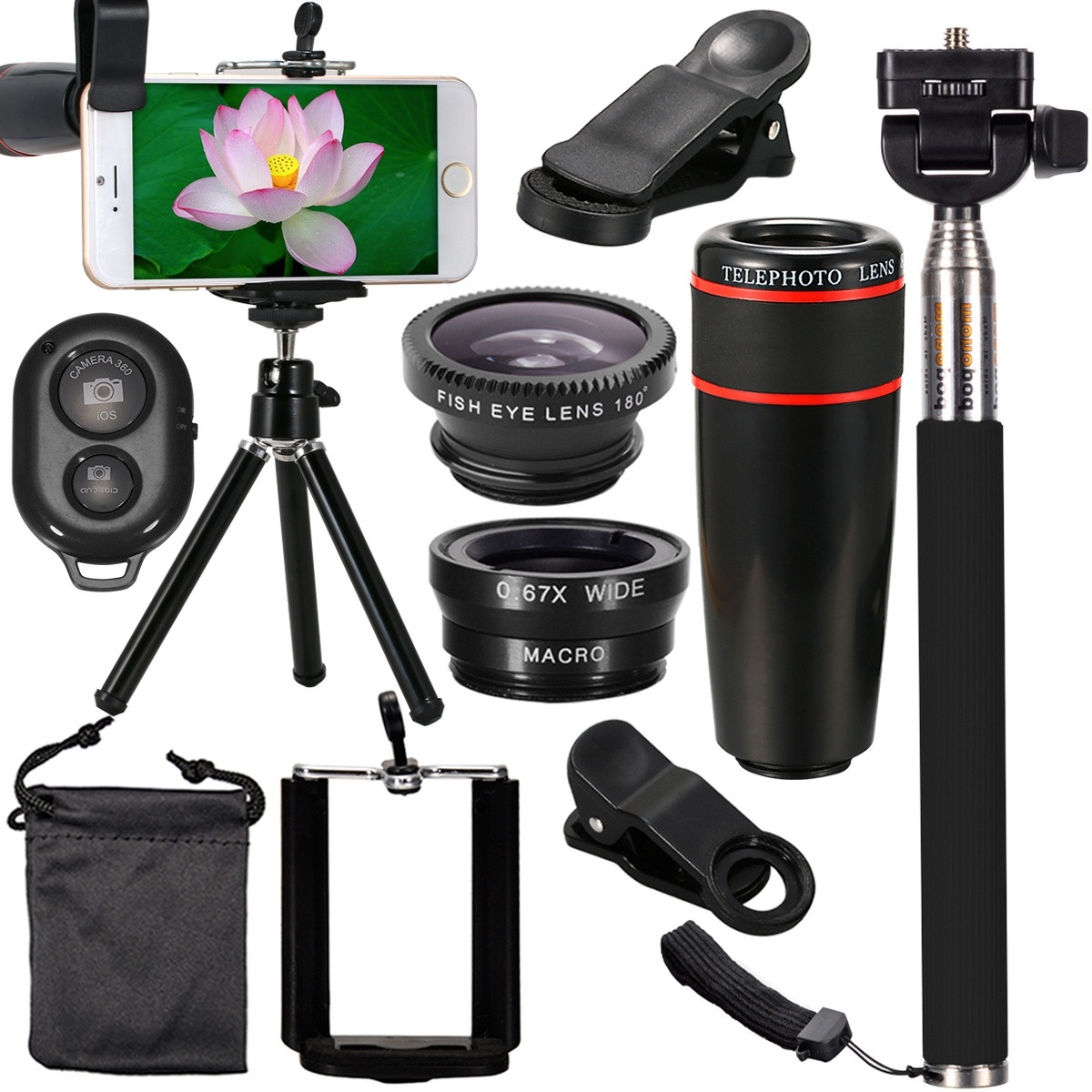 Len-Telescope Camera-Lens Phone Smart-Phone-Camera HUAWEI All-In-1-Accessories Samsung title=