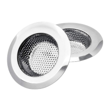 Stainless Steel Kitchen Sink Filter Sewer Filter Kitchen Sink Strainer Drain Hole Filter Trap Metal Sink Strainer Cocina