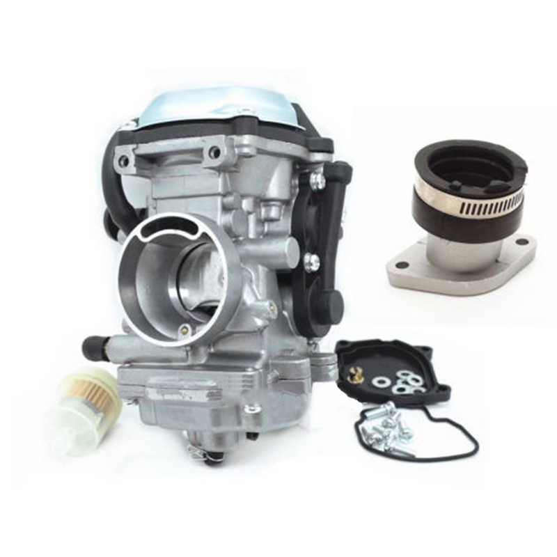 Karburator & Intake Manifold untuk Yamaha Bear Tracker 250 YFM250 Big Bear 350