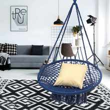 indoor swing furniture living room round hammock furniture outdoor indoor swing chair hanging for dormitory bedroom blue for children buy indoor swing chair and get free shipping on aliexpresscom