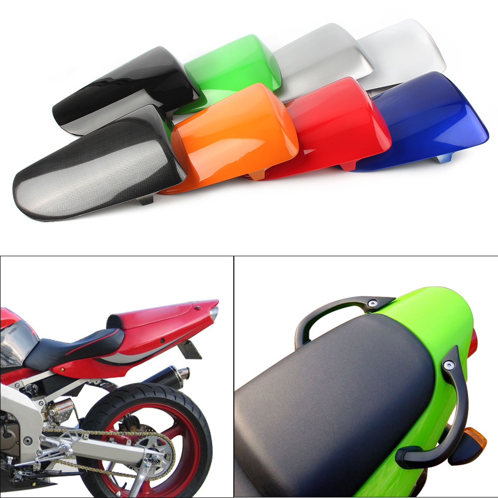 ZX6R 636 Rear Pillion Passenger Cowl Seat Back Cover GZYF Motorcycle Spare Parts For Kawasaki 2000 2001 2002 ABS plastic
