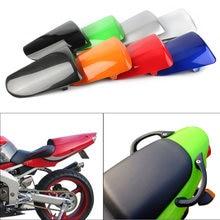ZX6R 636 tylne Pillion osłona siedzenia pasażera tylna pokrywa GZYF części zamienne do motocykli Kawasaki 1998 99 2000 2001 2002 plastik ABS