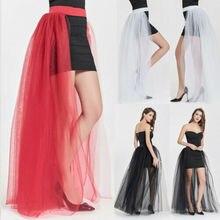Omen слои длинная юбка в пол из тюля принцесса обувь для девочек балетные костюмы юбка-пачка для танцев Фанни Пол Длина Женский, сетчатый юбка